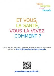 Chimie Naturelle - flyer recto