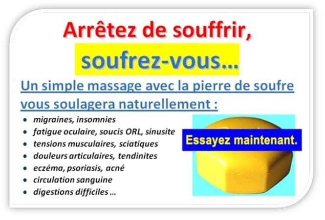 Chimie_Naturelle - pierre de soufre de massage